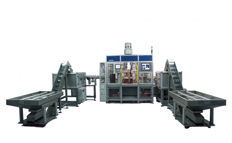 Component welding machine